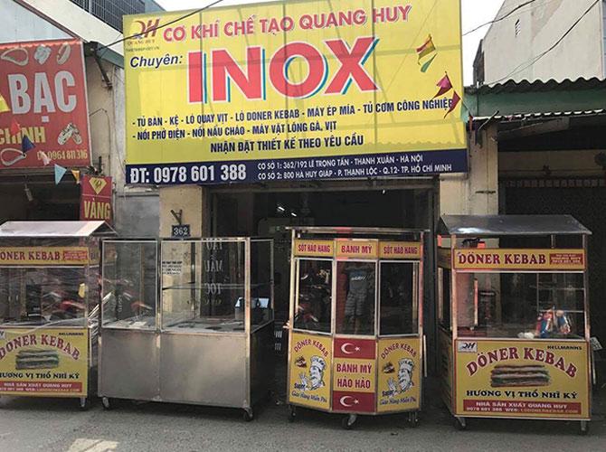 Một số mẫu xe bánh mì xe xôi khác tại Quang Huy