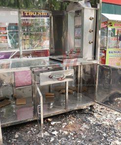 Xe bánh mì Kebab 2m Quang Huy