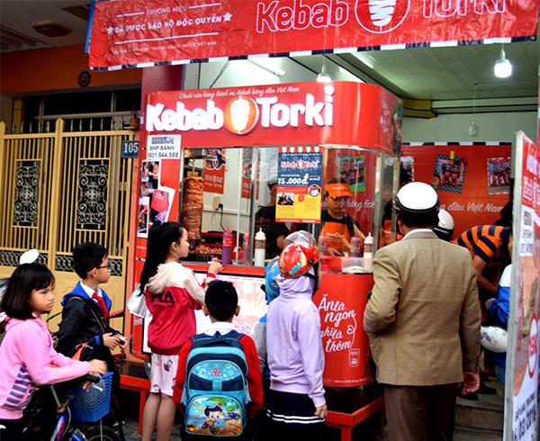 Cửa hàng bánh mì Thổ Nhĩ Kỳ