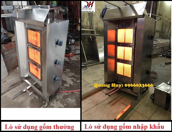 So sánh gốm nhâp khẩu và gốm thường Trung Quốc