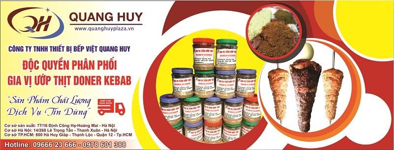 Địa chỉ chính hãng cung cấp gia vị ướp thịt Doner kebab nhập khẩu