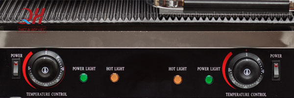 Hệ thống điều khiển máy ép bánh mì đôi QH-234
