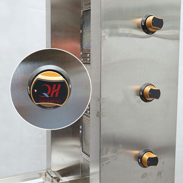 Hệ thống nút điều chỉnh nhiệt độ