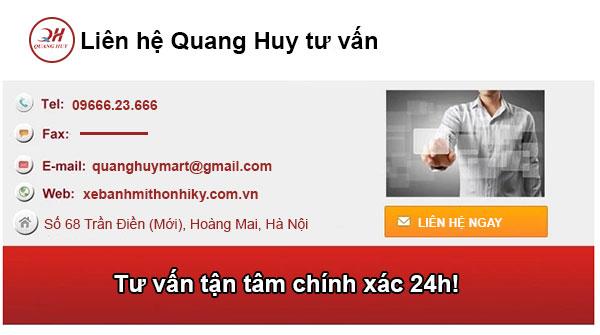 Liên hệ tư vấn thiết bị bếp việt Qaung Huy
