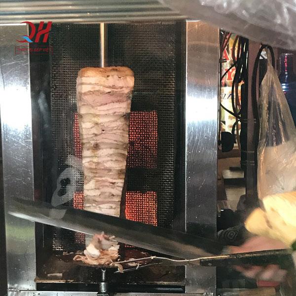 Lò nướng nhập khẩu xe bánh mì