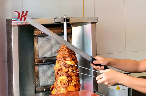 Lò nướng thịt doner kebab nhập khẩu