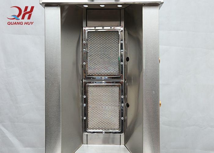 Sản Lò nướng kebab sử dụng gốm nhập khẩuhoạt động bằng gas thông dụng