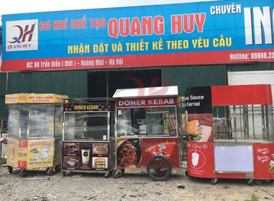 Quang Huy- địa chỉ bán xe bánh mì ở Cần Thơ giá rẻ, uy tín
