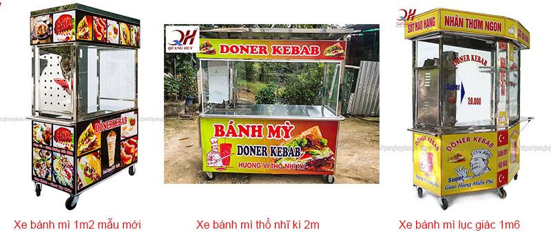 Mẫu xe bánh mì Thổ Nhĩ Kỳ tại Quang Huy