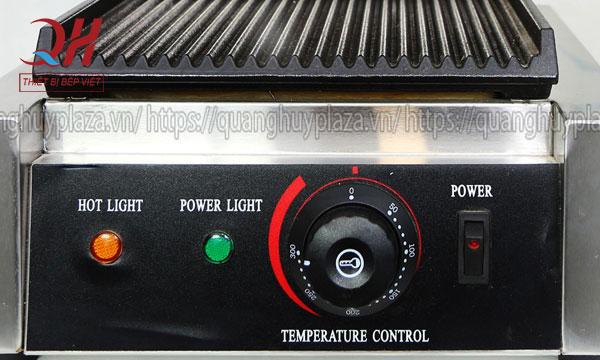 Nút điều khiển nhiệt độ máy ép bánh mỳ đơn QH-134