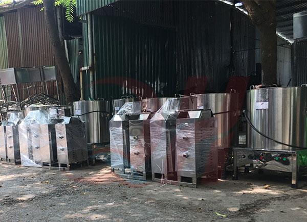 Quang Huy phân phối lò nướng thịt kebab trên toàn quốc