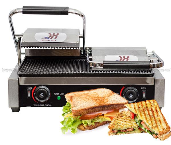 Sử dụng máy ép bánh mì đôi QH-234 đúng cách