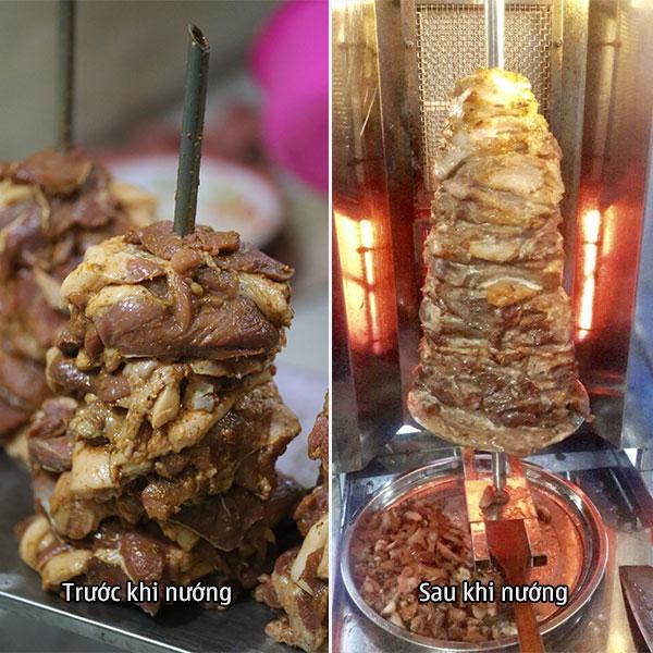 Ướp thịt với bột gia vị ướp thịt Thổ Nhĩ Kỳ Quang Huy