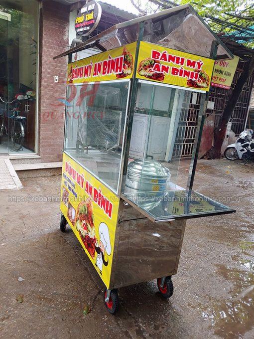 Xe bán xôi bánh mì 2m Quang Huy