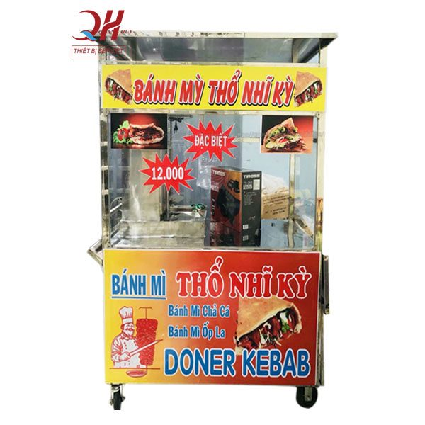 Xe bánh mì doner kebab 90cm