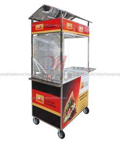 Xe bánh mì Doner Kebab 1m Quang Huy