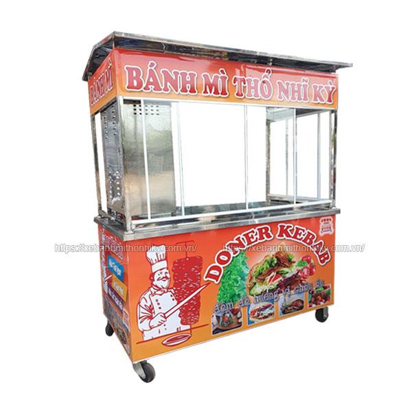 Xe bánh mì Doner Kebab Thổ Nhĩ Kỳ 2m Quang Huy