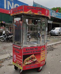Xe bánh mì lục giác 1m3 Quang Huy