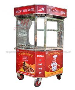 Xe bánh mì lục giác Thổ Nhĩ Kỳ 1m4 Quang Huy