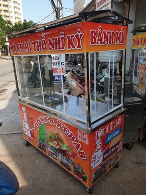Xe bánh mì Doner Kebab 2m Quang Huy
