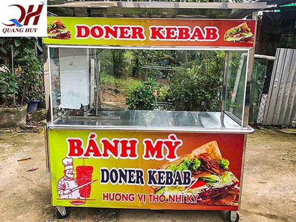 Xe bánh mì thổ nhĩ kỳ doner kebab 2 m