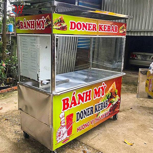 Xe bánh mì thổ nhĩ kỳ doner kebab 2m