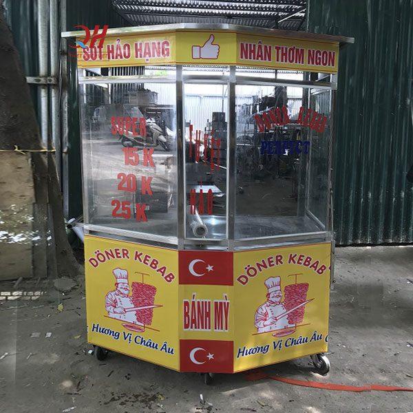 Xe bánh mì Thổ Nhĩ Kỳ lục giác 1m4