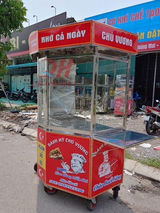 Xe bánh mì Thổ Nhĩ Kỳ lục giác 1m5 Quang Huy