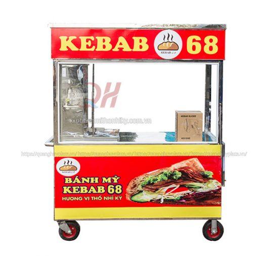 Xe đẩy bán bánh mì Thổ Nhĩ Kỳ 1m5 Quang Huy