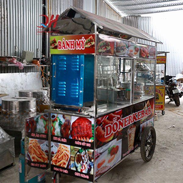 Xe xôi bán bánh mì 2m Quang Huy