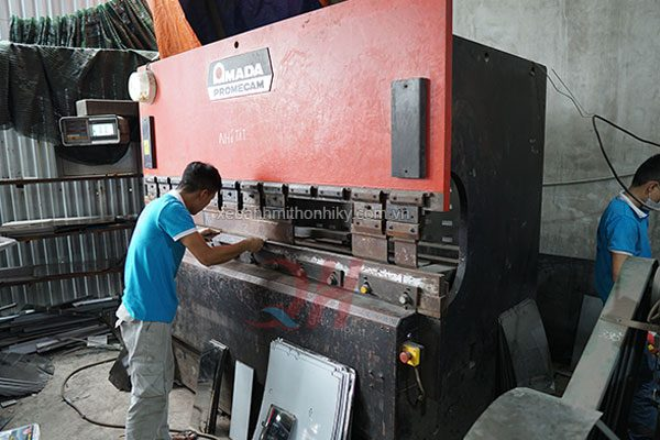 Xưởng sản xuất cơ khí Quang Huy