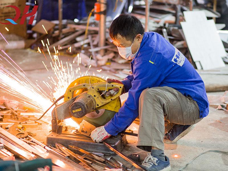 Xưởng sản xuất xe bánh mì Thổ Nhĩ Kỳ Quang Huy