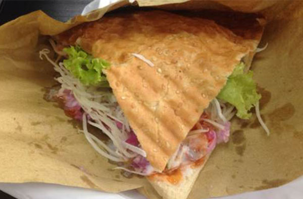 Bánh mì tam giác doner kebab