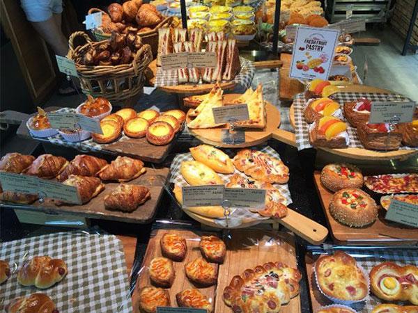 Hệ thống bán bánh mì của Tous Le Jours