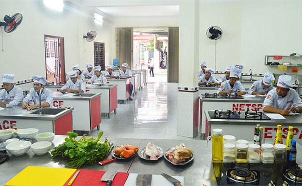 Học làm bánh tại trường dạy ẩm thực NETSPACE