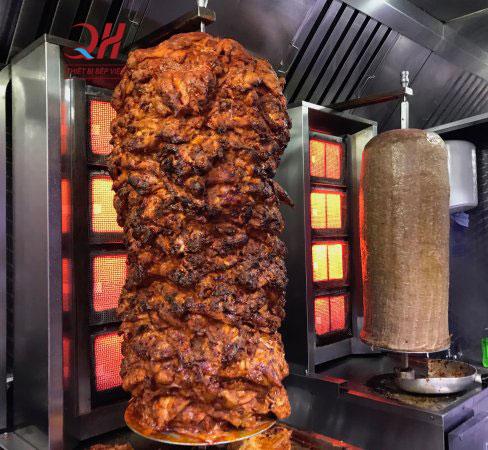 Lò nướng thịt doner kebab nướn thịt thơm ngon hơn