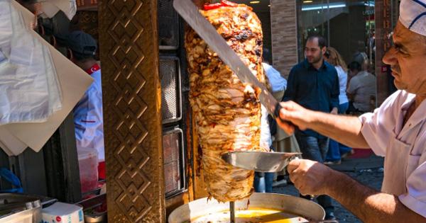 Lò nướng thịt Doner Kebab cũ