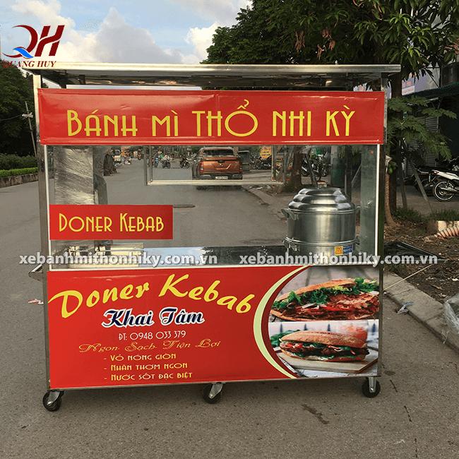 Mẫu xe bán xôi bánh mì đẹp tại Quang Huy