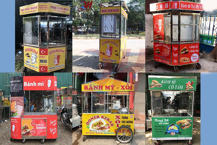 Một số mẫu xe bánh mì thổ nhĩ kỳ Quang Huy