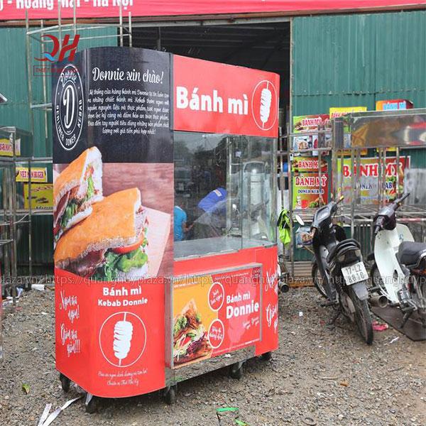 Xe bánh mì kebab Torki Quang Huy