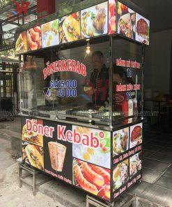 Xe bánh mì Thổ Nhĩ Kỳ Quang Huy 1m5 mẫu mới 2019