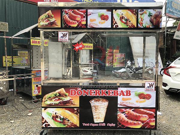 Xe bánh mì Thổ Nhĩ Kỳ 1m5 mẫu mới Quang Huy