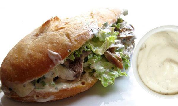 Nước sốt bánh mì Doner Kebab