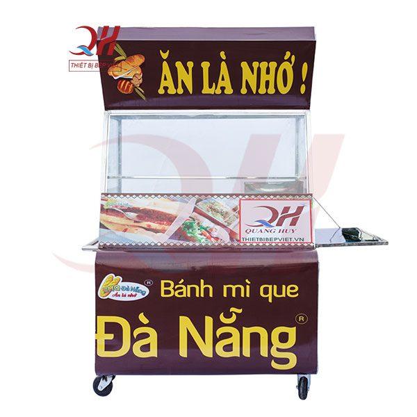 Xe bánh mì que Đà Nẵng 1m2 Quang Huy