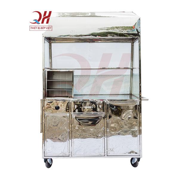 Xe bánh mì que đa nẵng 1m2 Quang Huy