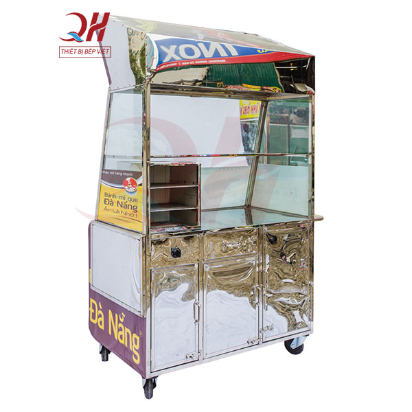 Cấu tạo xe bánh mì que Đà Nẵng 1m3
