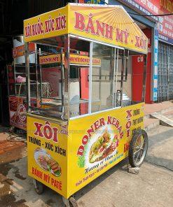 Xe xôi bánh mì 1m6 Quang Huy
