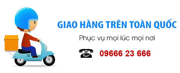 chính sách giao hàng máy kẹp bánh mì Quang Huy