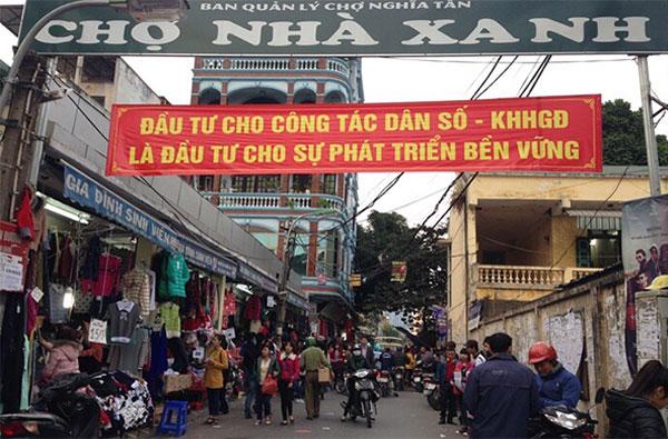 Chợ nhà xanh sinh viên