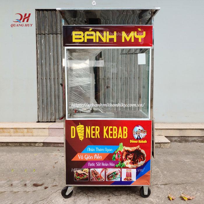 Hình ảnh xe bán bánh mì mini đẹp